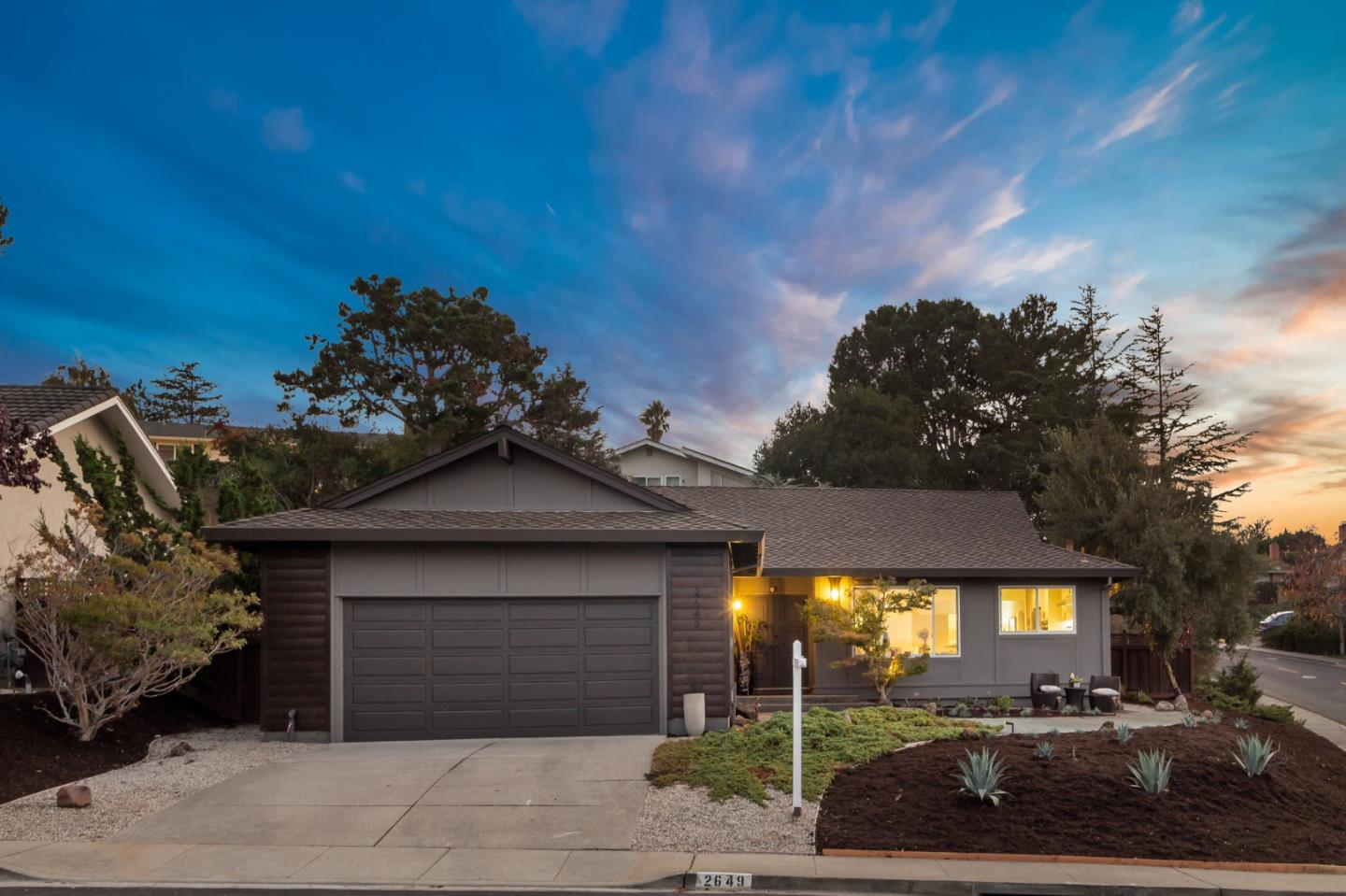 Detail Gallery Image 1 of 1 For 2649 Hallmark Dr, Belmont,  CA 94002 - 4 Beds   3 Baths