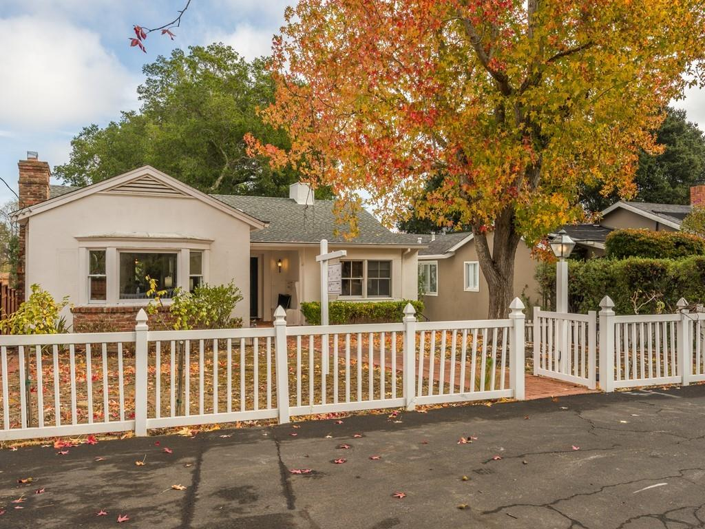Opportunity Knocks - Trust Sale - One of Burlingame's Best Streets. Prime Burlingame Park -Bordering Hillsborough - Walk to The Ave/Train. Oversized 1/4 acre lot (52 X 210) Featuring a Majestic Oak tree. Classic Burlingame Home - Hardwd Flrs - Lrg Frml Rooms. Eat-In Ktchn has a gas stovetop, dble-sink, and generous cabinets. 3 bedrms and 2 bathrooms on Main Level and Larg Fmly Rm Down. Generous prmry suite with walk in clost with views to the sprawling back yrd. The front versatile bedroom has a Tahoe feel and features a fireplace and wet-bar. The middle bedroom has a walk -in closet and a Jack-n-Jill bathroom sharing with the front bedroom. Laundry Room and enviable storage throughout! Detached 400+ SqFt Garage with old school work bench. An ample sized deck from the rear of the home leads to a brick patio that connects to a place to ponder on a stone bench at the Meditation Garden. Excellent Burlingame Schools / Magnificent Weather and easy access to SFO, The City and Silicon Valley.