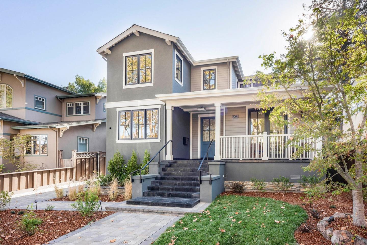 Newly built from the ground-up in the prestigious Easton Addition! Modern, sophisticated, open, bright, and airy 2-story showcase home with 5BR/4BA. Built-in camera system. Recessed lighting. Conveniently close to many amenities including fine shops and restaurants of Broadway and downtown Burlingame.