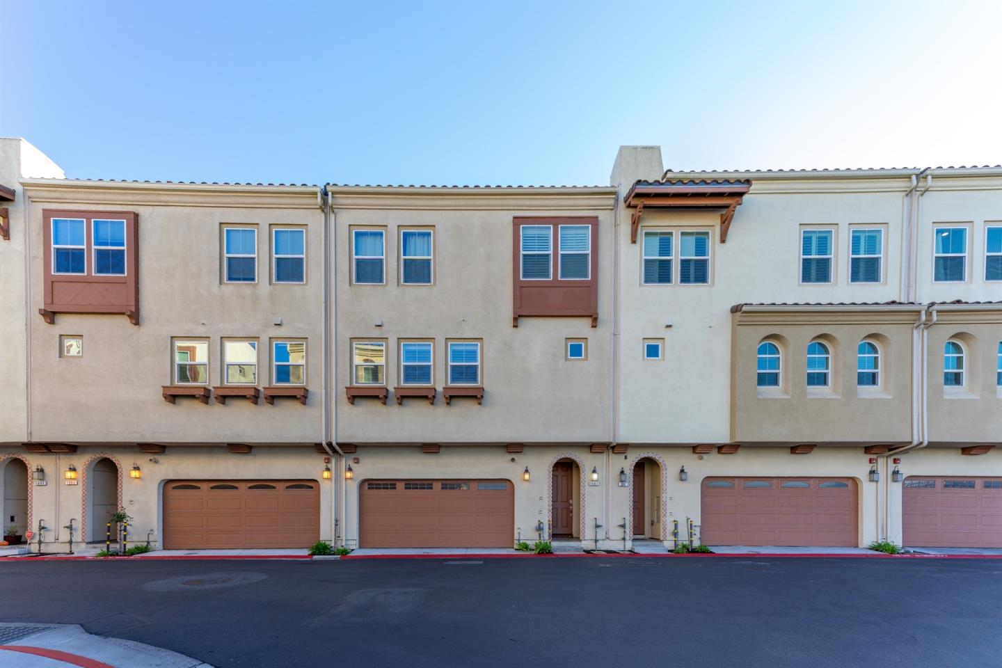 Gorgeous & Contemporary! This spectacular 3-level 3BD/2.5BA single family home in a gated private community w/breathtaking views built in 2017. Upon formal entrance, the 1st level of the home offers 2 car side by side garage and stairs to 2nd level. The 2nd level offers an open-concept living/dining room, gourmet kitchen, and a powder room. The kitchen features a large island w/ stone countertops, professional-grade KitchenAid appliances, modern cabinetry, walk-in pantry & lovely windows with views to sunset. Living room with sliding glass doors that open to an outdoor patio. The 3rd level offers master suite retreat, w/ a grand, spa-like bathtub w/double vanity & walk-in shower, plus a walk-in closet & 2 bedrooms spectacular views, 1 bath & full laundry room w/ washer & dryer. Property is equipped with a solar system, central A/C, security system, surround sound, & Smart Key. Close to shopping, library, Hwy 101 & 280, 5 minutes to BART & only 9 miles to the SF Financial District.
