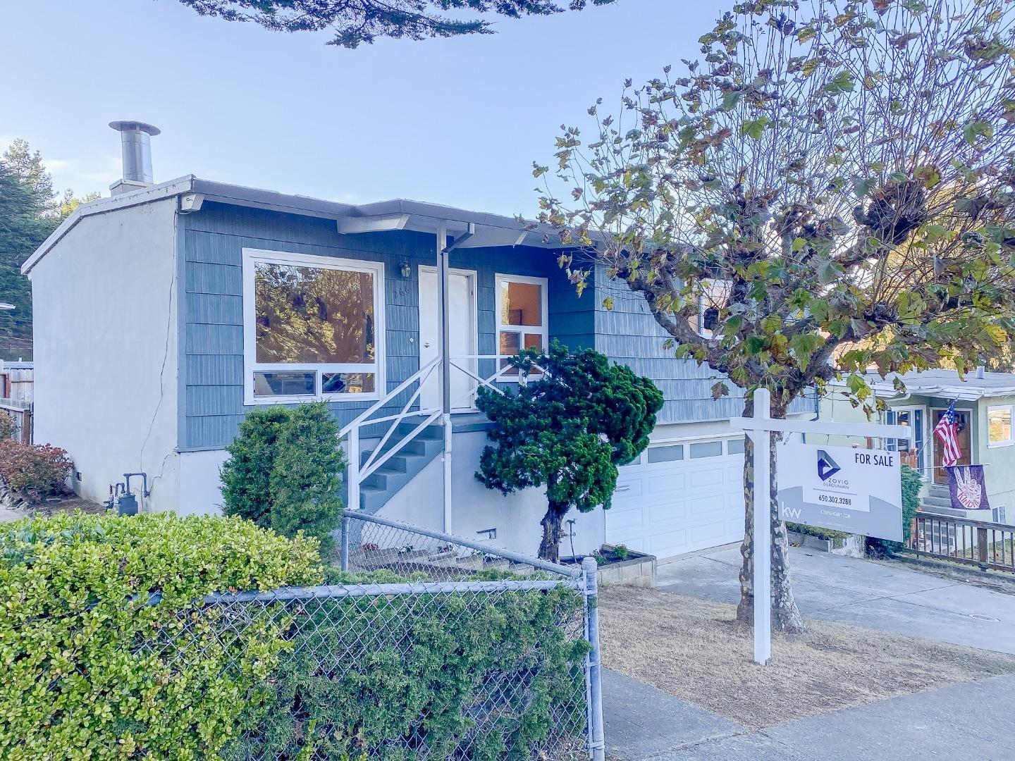 Detail Gallery Image 1 of 1 For 266 Hillside Dr, Pacifica,  CA 94044 - 3 Beds | 2 Baths