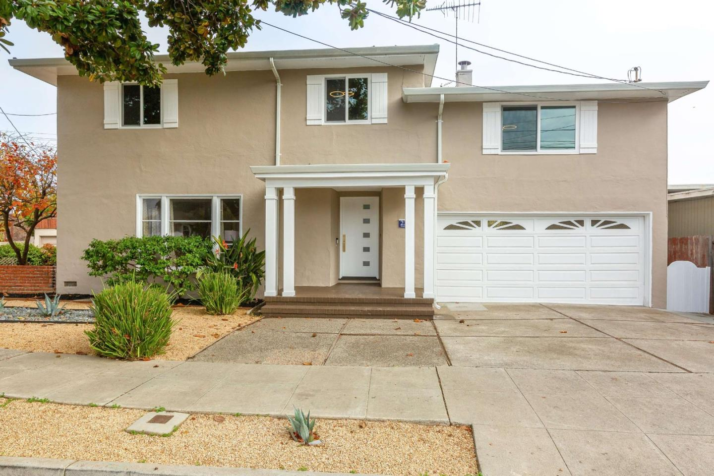 This unique prop. boasts an expansive lot & offers 2 detached homes for the price of 1 SFR. Originally custom-built for the 1st Chinese family in Burlingame, this would make the ideal resid. for a LRG family or those looking to generate a rental income. The impressive newly updated 2-story layout spans 3 diff. LVLs & has 6BRs, 3Bas & a selection of stunning liv. Spaces. Gorgeous HWD FLRS flow underfoot & combine perfectly w/ the crown molding, elegant color palette & abundance of NAT light to create an int. that instantly feels bright & inviting. Theres a formal LR, w/ a FP, a formal DR that has direct access thru to the kitchen & BKFST nook. Cooking will be a joy in the stylish kitchen w/a feature tile backsplash, sweeping countertops, SS APPL & a garden window. Theres an entertainers dream rumpus rm, w/ a FP, along w/ an office while 4BRs & 1 BA are perched on the 3rd FLR. Ensuring absolute opulence, the MASTR suite takes up an entire FLR & boasts a BA w/ a tub & a tiled shower.