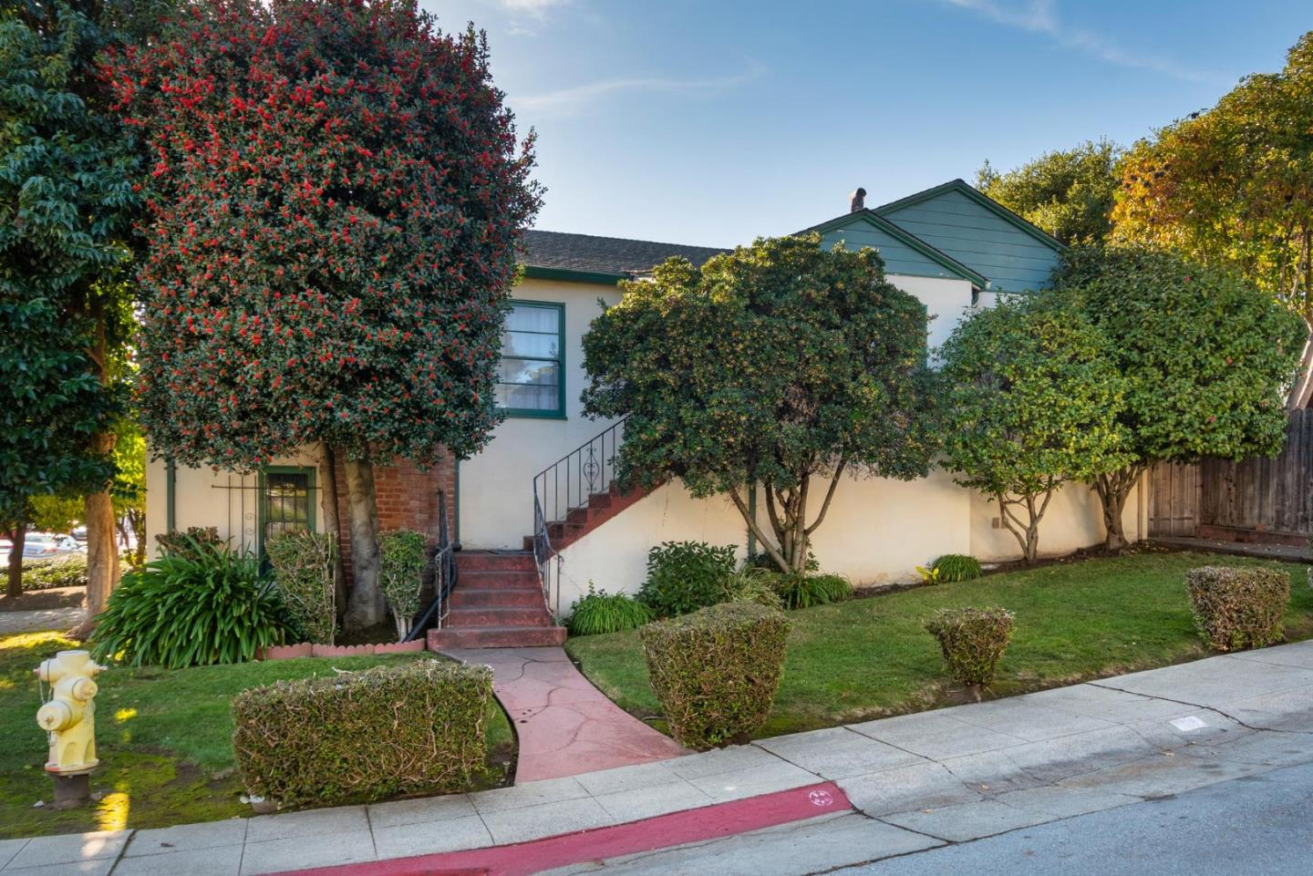 I am excited to fix you up with this fine 3-bedroom, 1.5 bath corner lot home within walking distance to two wonderful downtowns: San Mateo and Burlingame. In his own words: Ive got great qualities: I have a bonus room in my 658 sqft 2-car garage that makes for a great man cave or ADU + 3 bedrooms, 1.5 bath, living and dining room, dine-in kitchen, fireplace, laundry room w/washer & dryer and large private back yard for outdoor fun with fruit trees and dog pen!  I am on a 5280 sqft corner lot so you will always have your space.  I may be a little rough around the edges but nothing someone with good carpentry hands can't fix. I am the perfectly situated home!  Less than 5 minutes to Coyote Point which is a special place on the water and to live so close is a real location perk. Close proximity to many high-tech employers in downtown and at Bay Meadows, e.g, Survey Monkey. Centrally located for all your desired destinations and commute directions. I am ready to be fixed up!