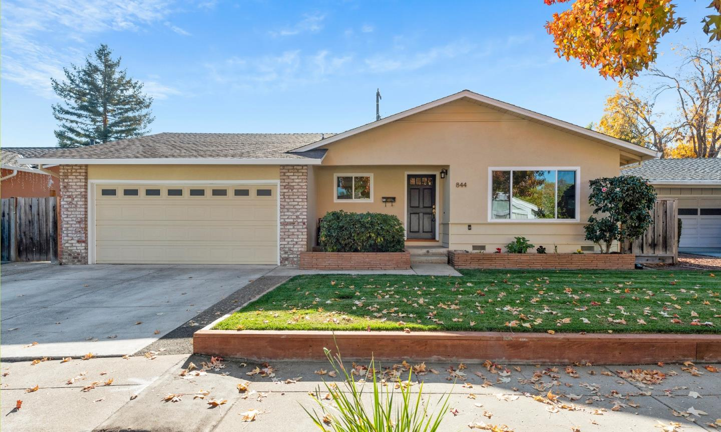 Detail Gallery Image 1 of 1 For 844 Flin Way, Sunnyvale,  CA 94087 - 4 Beds | 2 Baths