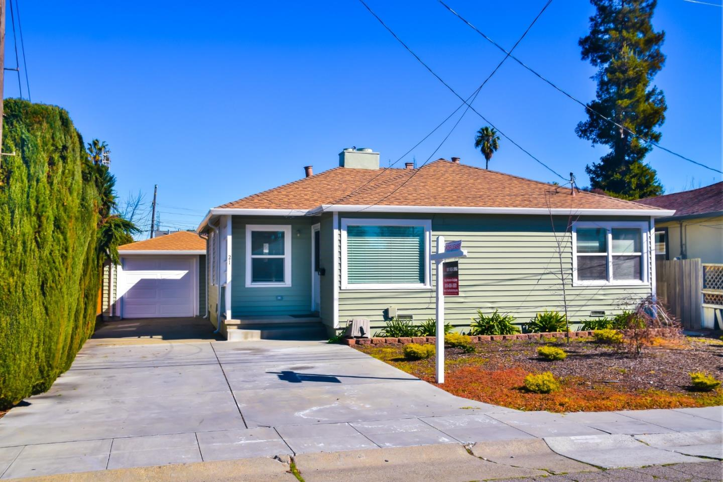 Detail Gallery Image 1 of 1 For 21 Ontario St, San Mateo,  CA 94401 - 3 Beds   1 Baths