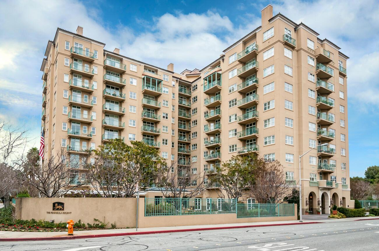 Detail Gallery Image 1 of 17 For 1 Baldwin Ave #701,  San Mateo,  CA 94401 - 1 Beds | 1 Baths