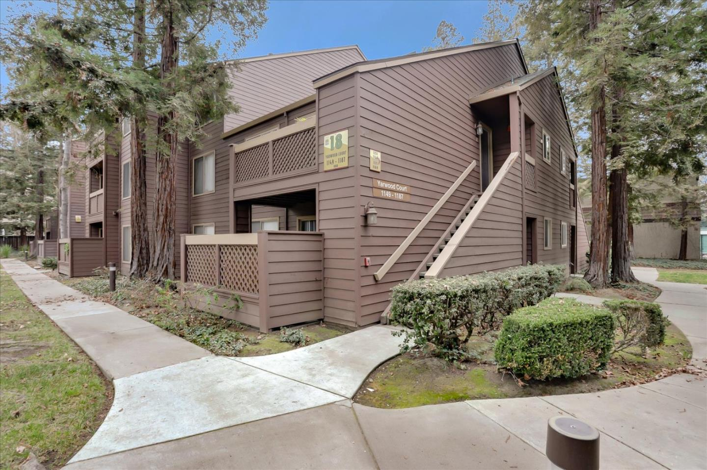 AMAZINGLY SHARP CONDO FOR THE BEST PRICE IN RESORT-LIKE SIERRA CREST!!! This beautiful condo has been upgraded and freshly painted. Chefs kitchen with wood cabinets, granite countertops, stainless steel appliances and large designer sink. The main living area features gorgeous wood floors, recessed lighting and a sliding door that leads to the zen outdoor space. The spacious master bedroom has a large walk-in closet with closet organizer system. The bathroom is generous in size and pretty tiled floors. Indoor laundry!!! Additional storage inside the bathroom, hallway and balcony. Sierra Crest features 2 pools, 2 spas, gym, park-like grounds, bbq area and visitor parking. Amazing location near Santana Row, Valley Fair, Downtown San Jose, transportation and freeways!