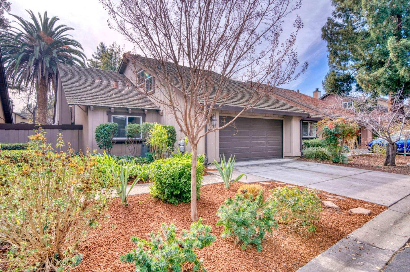 This gorgeous single-family home is located in the hub of Silicon Valley - Cupertino. Award-winning Cupertino Union School District and proximity to most major High tech employers. This unit boasts 2 bedrooms, 2 bathrooms, and 2 garage spaces, with a private backyard. Gorgeous floorplan with a wet bar downstairs, and a small art studio upstairs. Join Zoom meetings from your primary suite or the office downstairs. Easy access to most major highways.