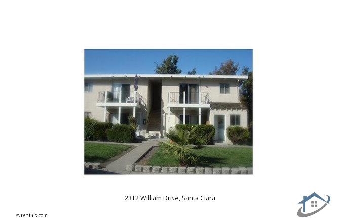 Detail Gallery Image 1 of 15 For 2312 William Dr, Santa Clara,  CA 95050 - 2 Beds   1 Baths