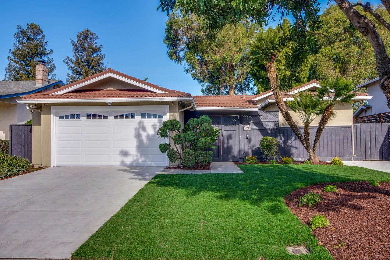 Detail Gallery Image 1 of 1 For 1095 Bryant Way, Sunnyvale,  CA 94087 - 4 Beds   2/1 Baths