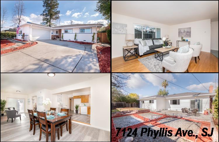 Detail Gallery Image 1 of 1 For 7124 Phyllis Ave, San Jose,  CA 95129 - 4 Beds | 2 Baths