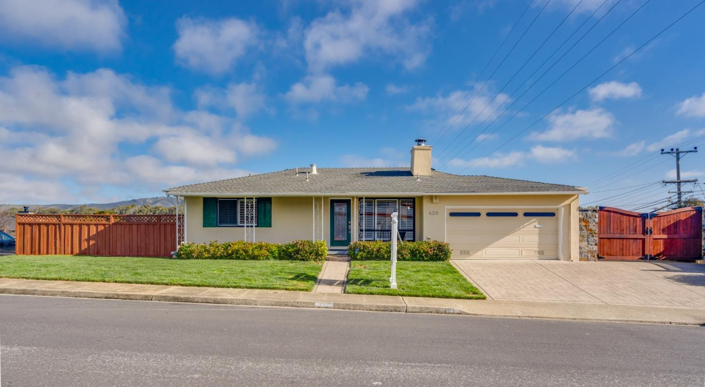 Detail Gallery Image 1 of 1 For 420 Serra Dr, South San Francisco,  CA 94080 - 3 Beds   2 Baths