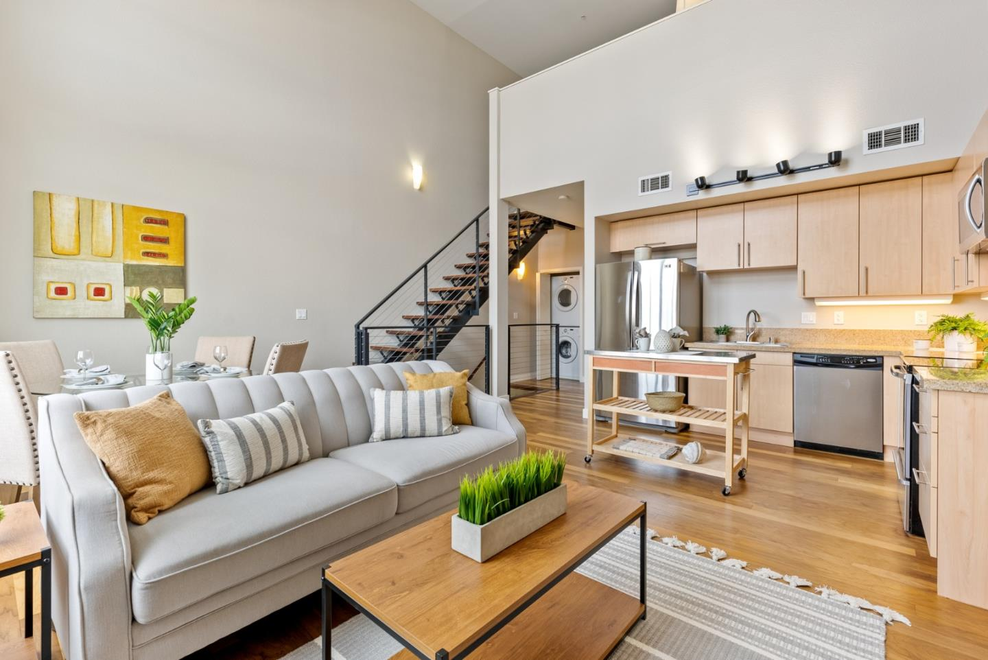 Detail Gallery Image 1 of 35 For 88 Bush St #2171,  San Jose,  CA 95126 - 2 Beds | 2 Baths