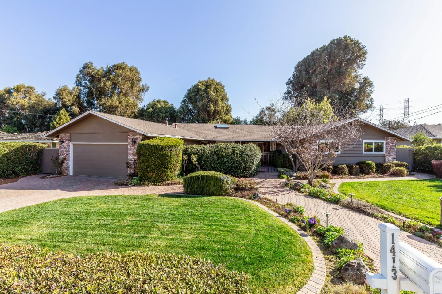 Detail Gallery Image 1 of 1 For 1413 Brookmill Rd, Los Altos,  CA 94024 - 4 Beds | 2/1 Baths