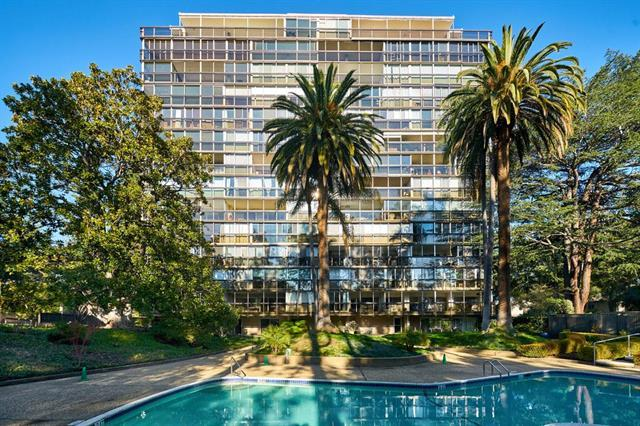 Detail Gallery Image 1 of 16 For 101 Alma St #602,  Palo Alto,  CA 94301 - 2 Beds | 2 Baths