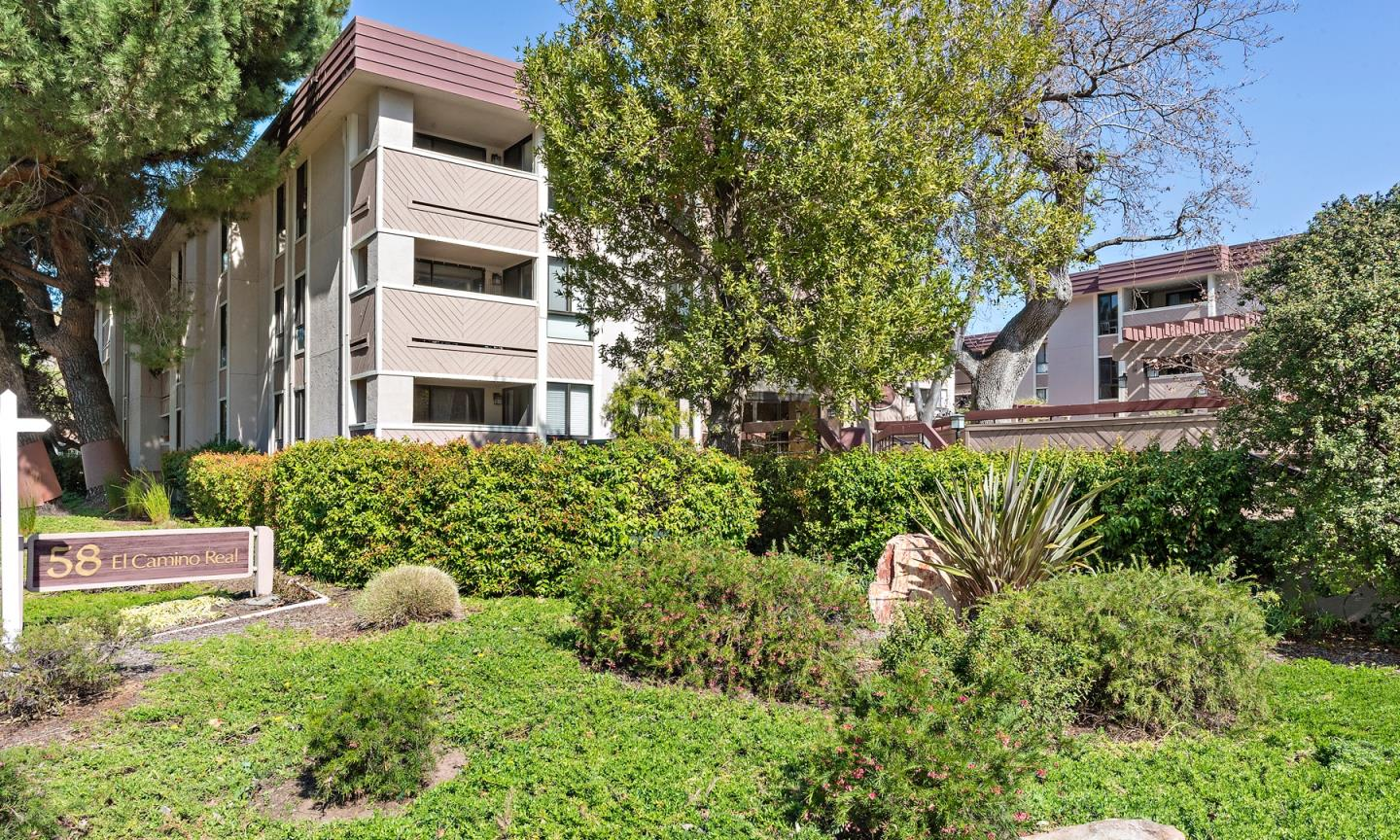 Detail Gallery Image 1 of 19 For 58 N El Camino Real #212,  San Mateo,  CA 94401 - 2 Beds | 2 Baths