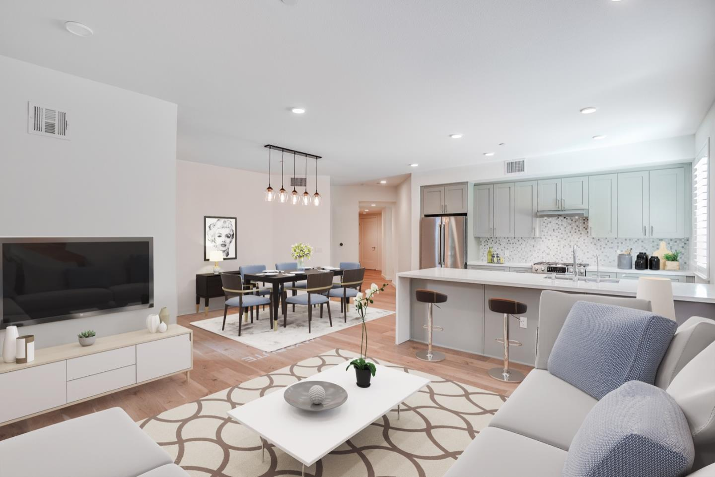 Detail Gallery Image 1 of 1 For 400 El Camino Real #202,  Belmont,  CA 94002 - 3 Beds | 2 Baths