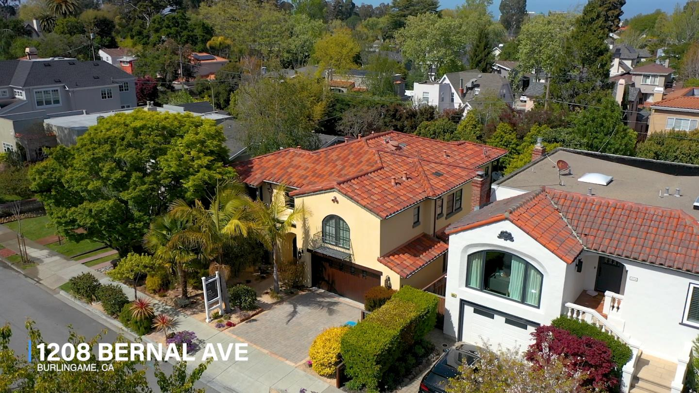 Detail Gallery Image 1 of 79 For 1208 Bernal Ave, Burlingame,  CA 94010 - 4 Beds | 5/1 Baths