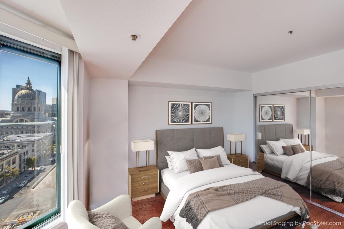 Detail Gallery Image 1 of 33 For 601 Van Ness Ave #802,  San Francisco,  CA 94102 - 1 Beds | 1 Baths