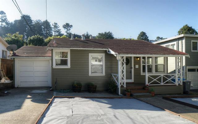 Detail Gallery Image 1 of 1 For 536 Canyon Dr, Pacifica,  CA 94044 - 2 Beds | 1 Baths