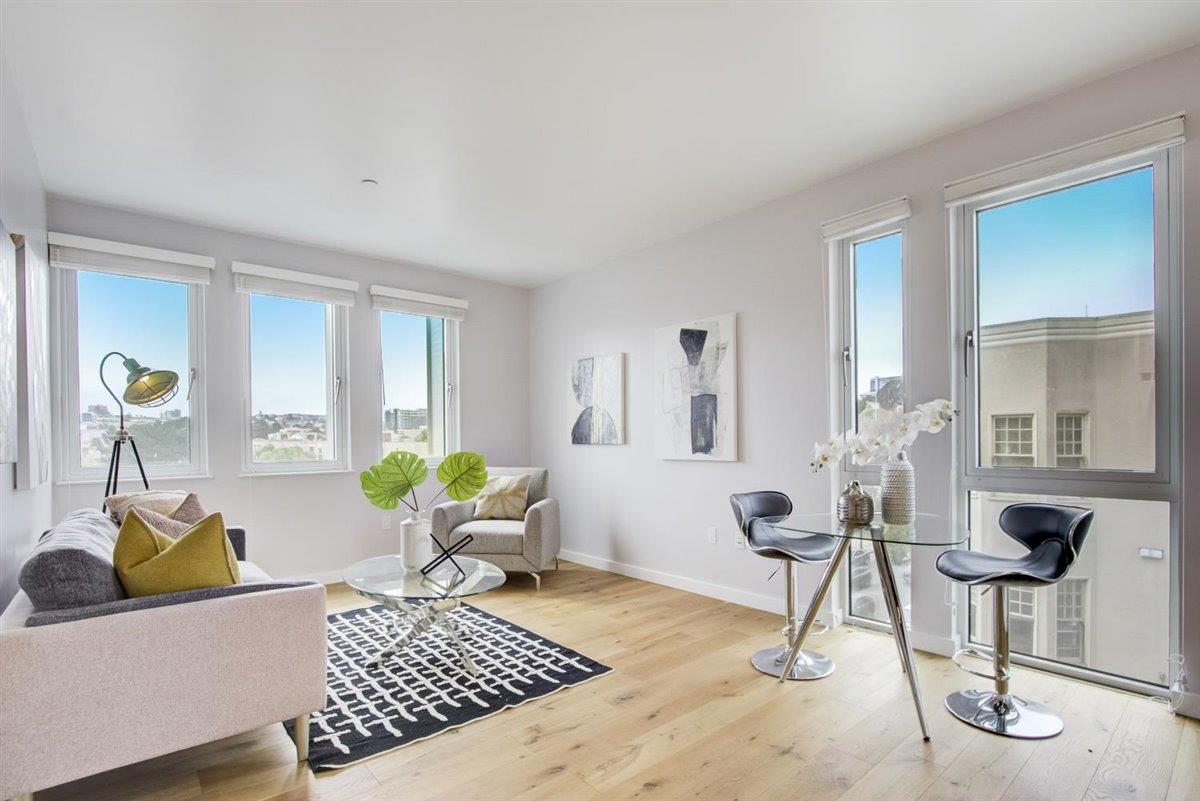 Detail Gallery Image 1 of 44 For 388 Fulton St #405,  San Francisco,  CA 94102 - 2 Beds | 1 Baths