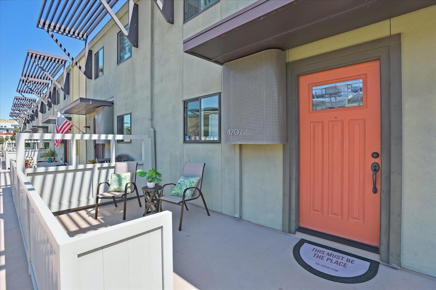 AWESOME BAY AREA LOCATION! Condo/ 2 story Town Home Style! Move in ready and INVESTOR FRIENDLY! Spacious and bright,2 bedrooms and 1.5 bath.Living/dining combo opens to a large size balcony area overlooking green belt. Brand new kitchen appliances and stone counter tops. Updated half bath. Double pane windows and sliding door. In unit washer and dryer hook ups. extra storage.1 Car gated parking with plenty of guest parking. EXCELLENT SCHOOLS and MUCH more! Walk to Starbucks, shops, parks, restaurants, Costco,  Visa, JCC and Brewer Island Elementary. Short drive to Gilead, Sciences & Illumina Inc. Easy access to 92/101/280 Hwys. Minutes to SFO & SJ airports.