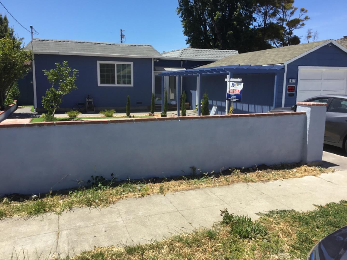 The house is situated in nice neighborhood of San Bruno area,Hardwood floor,separate living room,laundry room ,bonus room between garage and the house can be used as gym.two extra storage room,House is close to Belle Air Elementary School ,Easy access to 101 and 280 freeway,close to SFO Airport , Bart station ,cal train station and Tanforan  mall and major grocery stores.There is no back yard as the house is build all the way back to the fence.Recently  painted inside and outside , nice front yard BEWARE OF THE DOG.The buyers agents and the buyers must verify the sq footage and the bldg addition from CITY OF SAN BRUNO.