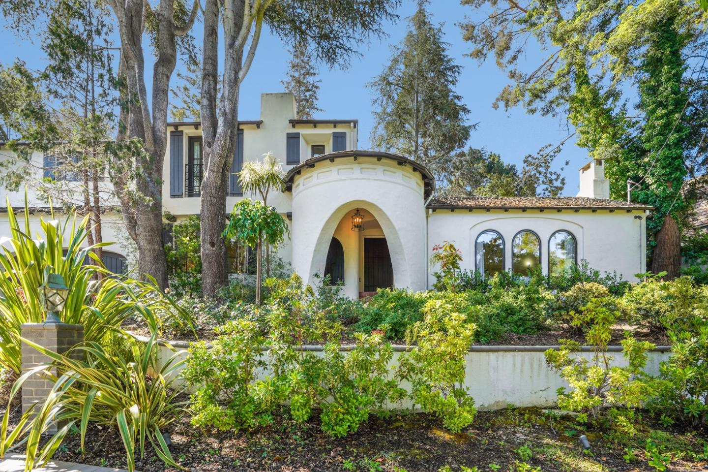 Located in the heart of San Mateo Park, this exceptional Spanish inspired home has been extensively remodeled, while preserving timeless characteristics and charm. Open beam ceilings, arched doorways and fireplace, iron staircase, along with recessed niches, are just some of the classic features that preserve the integrity of the home. This majestical home spans 3130 square feet of living space on one third of an acre of immaculately detailed grounds with a hot tub, vegetable garden, and fruit trees. Features and upgrades include a grand formal living room, beautifully remodeled chef's kitchen that opens to a traditional dining room, au pair bedroom on the main level, and a large family room that opens to the manicured backyard that offers privacy and space for all forms of gatherings. The second level features 3 bedrooms, 2 remodeled baths with detailed artistic tile and radiant heated floors in the primary bathroom. The floor is complete with a bonus office/nursery. Welcome Home!