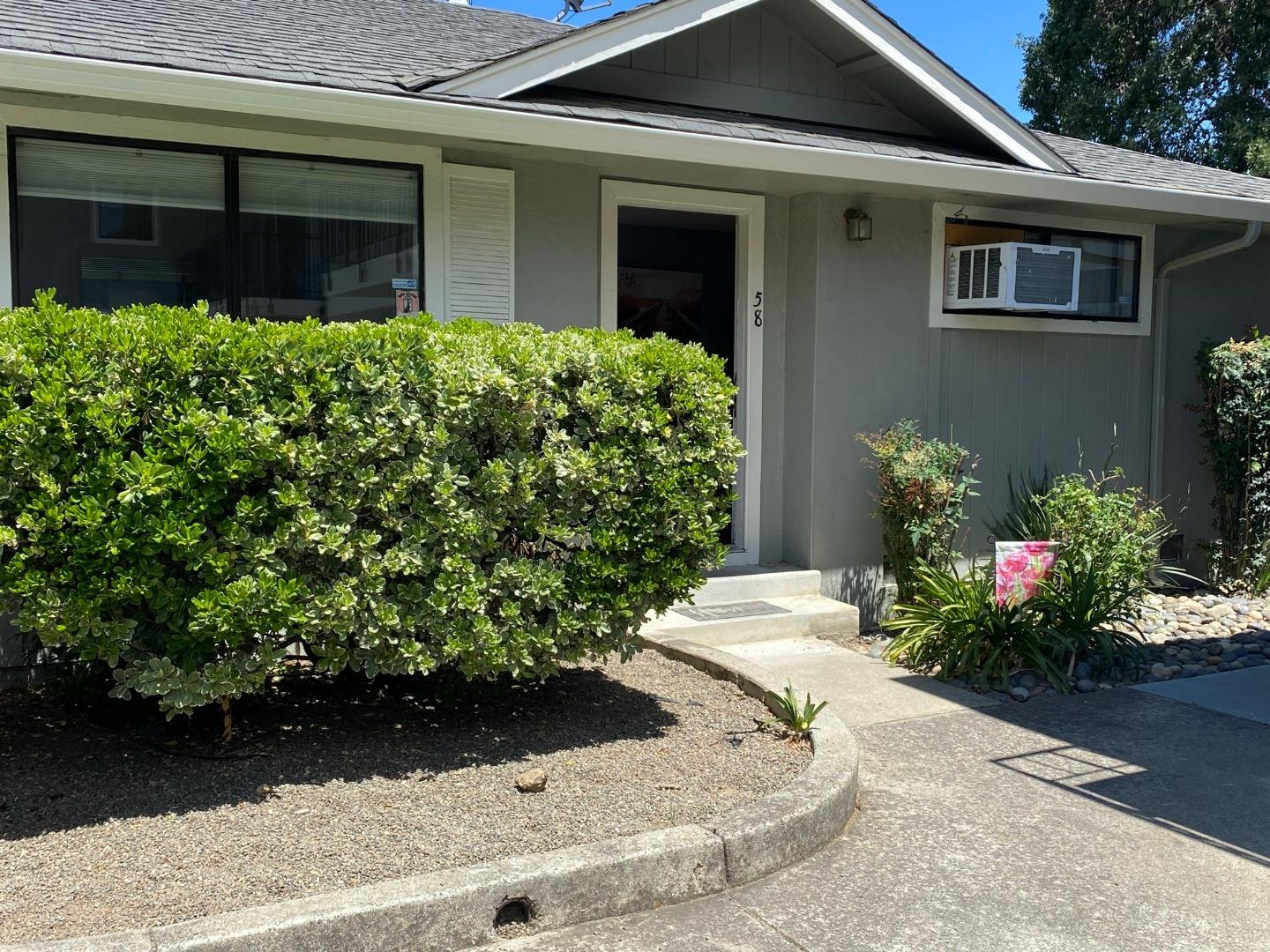Phenomenal location in the heart of Downtown Morgan Hill. Beautiful inside unit with tasteful updates. Kitchen, bathroom, molding and built ins all are done. Gorgeous hardwood floors, convenient indoor laundry room with wash basin, attached garage, French doors off the living room leading you to a private fenced in backyard with artificial turf for low maintenance living so you can enjoy life style. Walk to the numerous Restaurants, Brewery, Gyms, Shops, Park, Farmers Market & if you are a commuter the train station is 1 block away! This is an amazing opportunity to own & not pay rent while being in the center of it all.