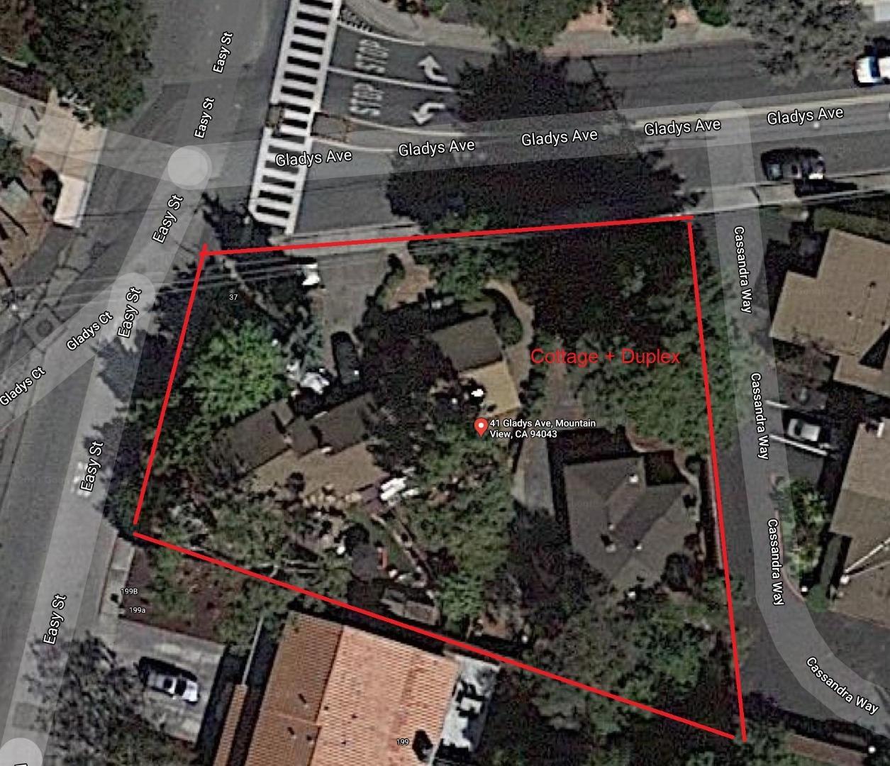 41 Gladys AVE Mountain View CA 94043