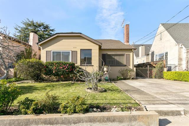 This is your chance to live in the highly sought after Burlingame Terrace. Large lot with detached garage. Expand, do an ADU, or do a partial remodel, and customize into your dream home! Walk to shops and restaurants of Burlingame Ave and Broadway.  Close proximity to schools, parks,