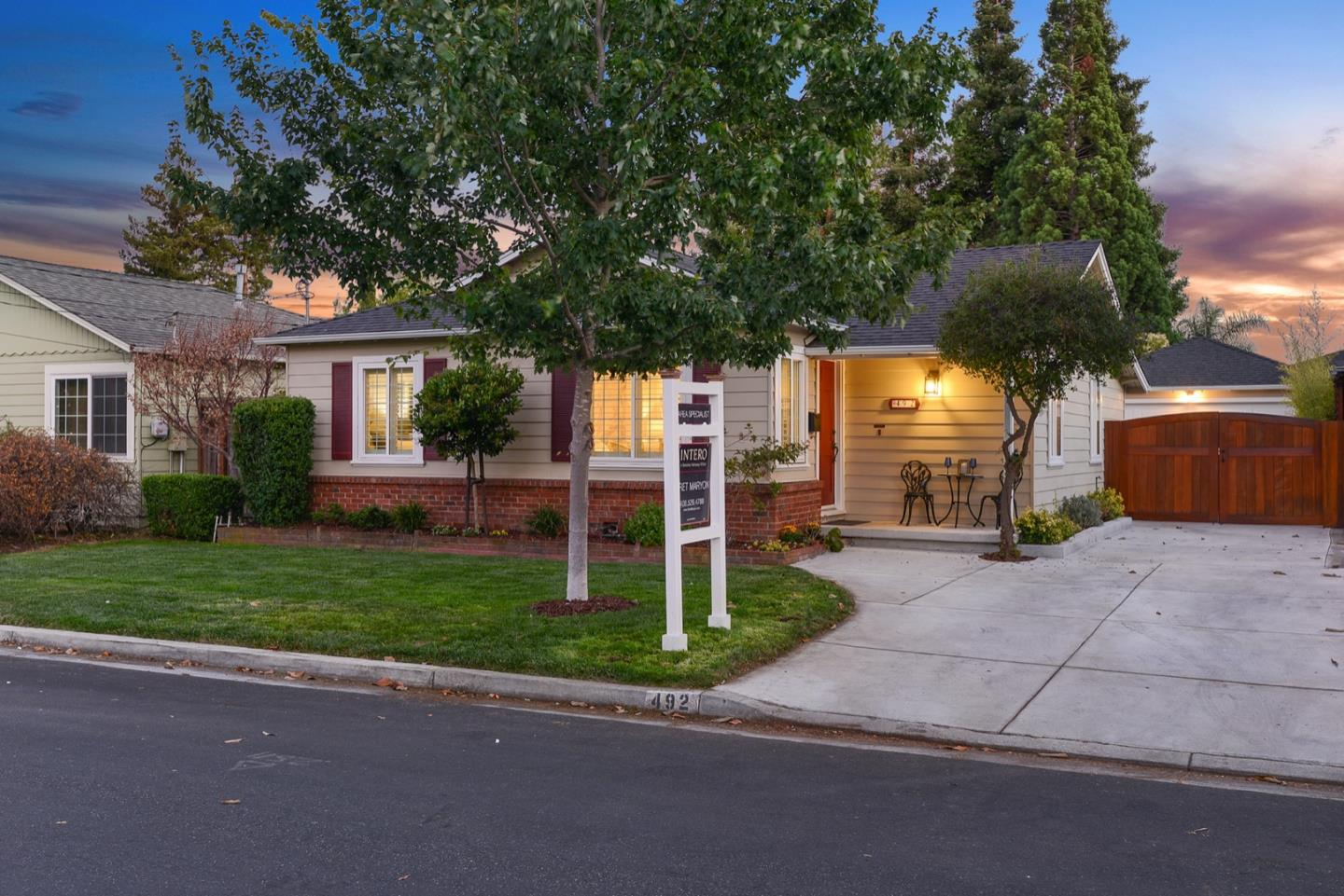 Detail Gallery Image 1 of 1 For 492 Vine Ave, Sunnyvale,  CA 94086 - 3 Beds | 2 Baths