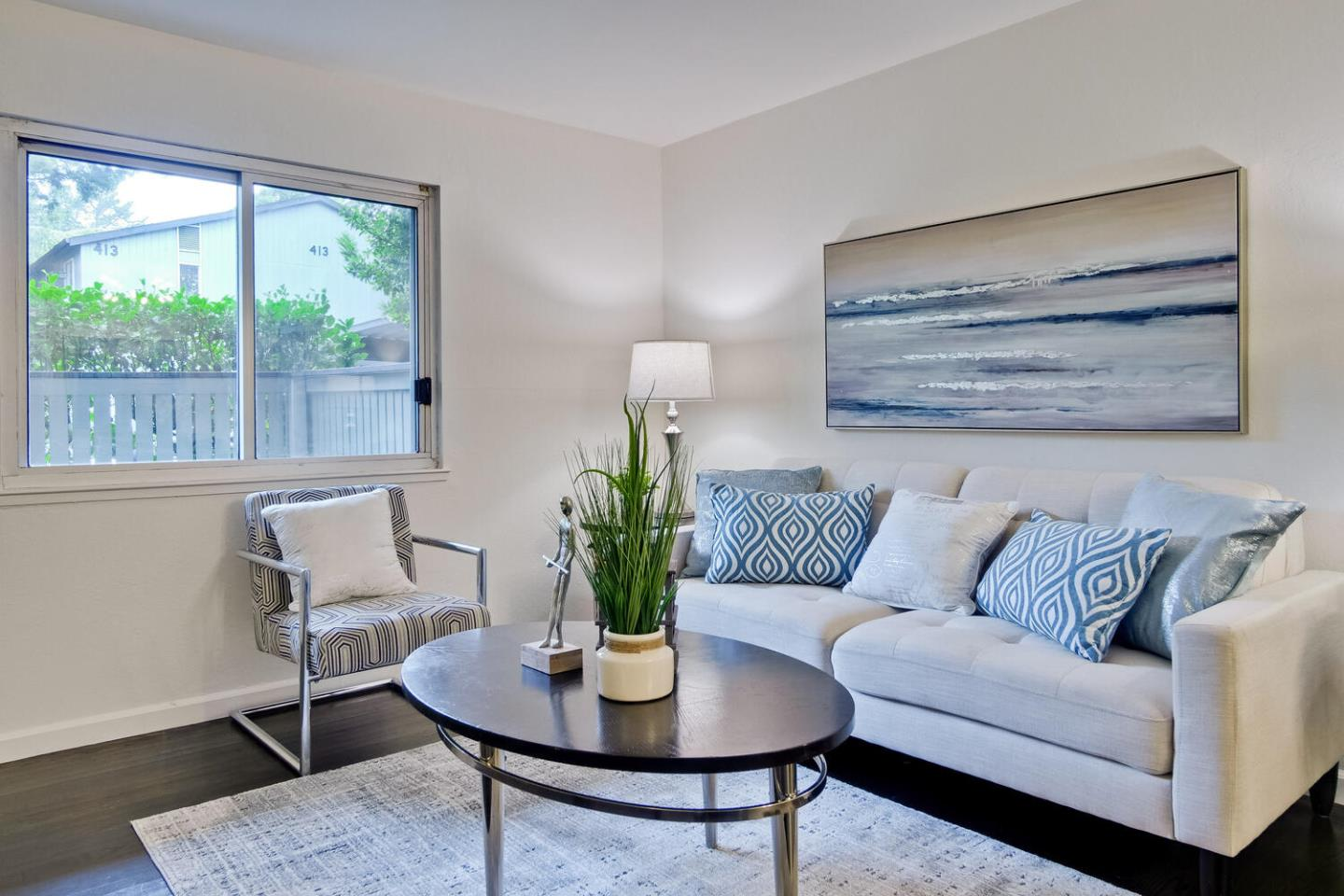 Enjoy living in this amenity-rich and ultra-convenient 1BR, 1BA home just blocks from shopping, bars, restaurants, parks, hiking and more. Residents of this unit have full access to 4 pools, tennis courts, a clubhouse with year-round activities and events, fitness center, spa, laundry, and car parking. This charming one-bedroom condo features a remodeled Kitchen and Bathroom. Kitchen has new quartz countertops w/ glass tile backsplash, new cabinets, brand new 2 door s/s refrigerator/freezer, new range/oven with hood, and a kitchen sink w/ full down spray head. Open living room with dining space. Mirror wall cabinet. Master bedroom has large walk-in closet. Newly remodeled bathroom has shower over tub, vanity cabinet w ample storage and laminate flooring. Walk to Mollie Stones, Starbucks, CVS, & Commodore Park. Sweeney Ridge hiking trails, Tanforan Mall are nearby. Lots of commute options including 280, 380, 101, Skyline, SF Airport BART. Pet friendly. Low HOA dues.