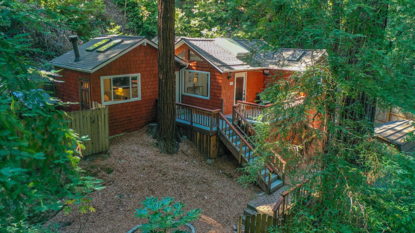 Detail Gallery Image 1 of 1 For 111 Madrona Rd, Felton,  CA 95018 - 2 Beds   1 Baths