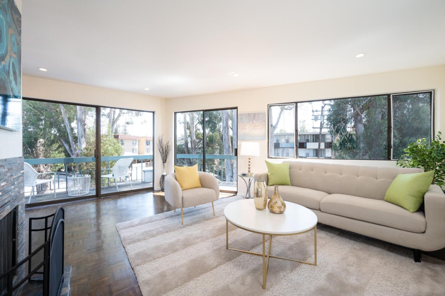 Top floor corner unit in the heart of Burlingame - one of the most sought-after locations in the Bay Area! This 2 bedroom, 1 bathroom retreat elevates modern living to new heights. Nestled in a low-density 8-unit building, the bright and airy home promotes comfort and serenity around every luminous corner. The home boasts newly refinished hardwood floors in the living area, new paint, a gas fireplace in the living room, a wraparound balcony, and an updated kitchen with stainless steel appliances. The dreamy bedrooms are built for those who enjoy space and privacy.  Comes with 1 carport parking space and an extra storage room. Low HOA due covers water, garbage, exterior maintenance, insurance, and professional management. New roof by HOA. Just a few blocks from the vibrant Downtown with world-class stores, trendy shops, popular eateries, and activities. Located in the top-rated school district and within unparalleled proximity to Parks, CalTrain, BART Station, Highway 101, so much more.