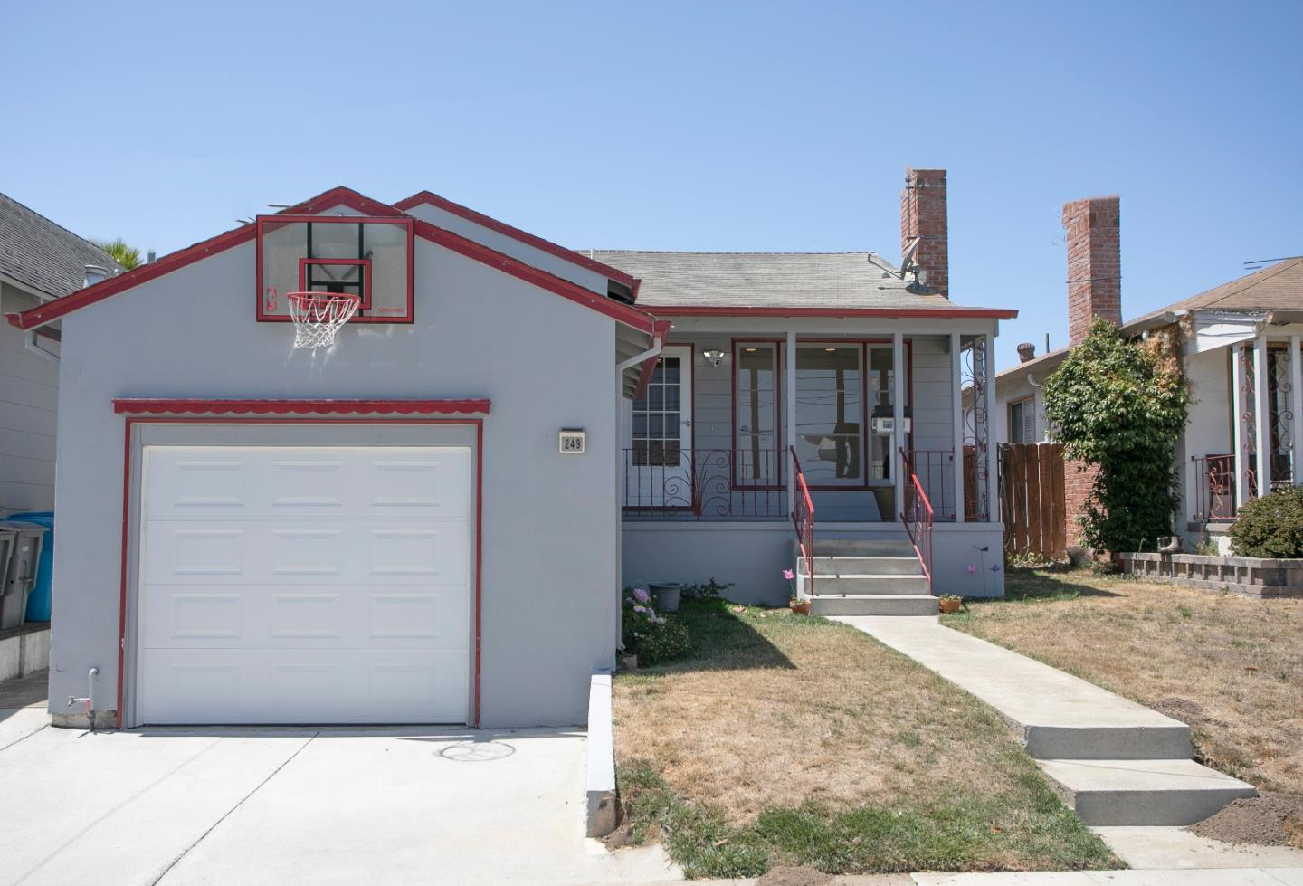 This 3-bedroom and 2 full bathroom ranch home is located in the prestigious Huntington Park neighborhood of San Bruno and is immaculate & full of upgrades! Enjoy this one-story open floor plan with recessed lighting large windows throughout. The gourmet kitchen is designed to be the heart of the home, which opens into the living and dining area, complete with large-customized countertops & stainless-steel appliances. Updated recessed lighting throughout the entire home. Fully updated guest bathroom and laundry room. This floor plan includes a 500 square feet addition completed in 2005 with permits, increasing the total square footage. Large back patio area perfect for entertaining and located right off the great room. Enjoy the fully fenced backyard perfect for kids & pets.