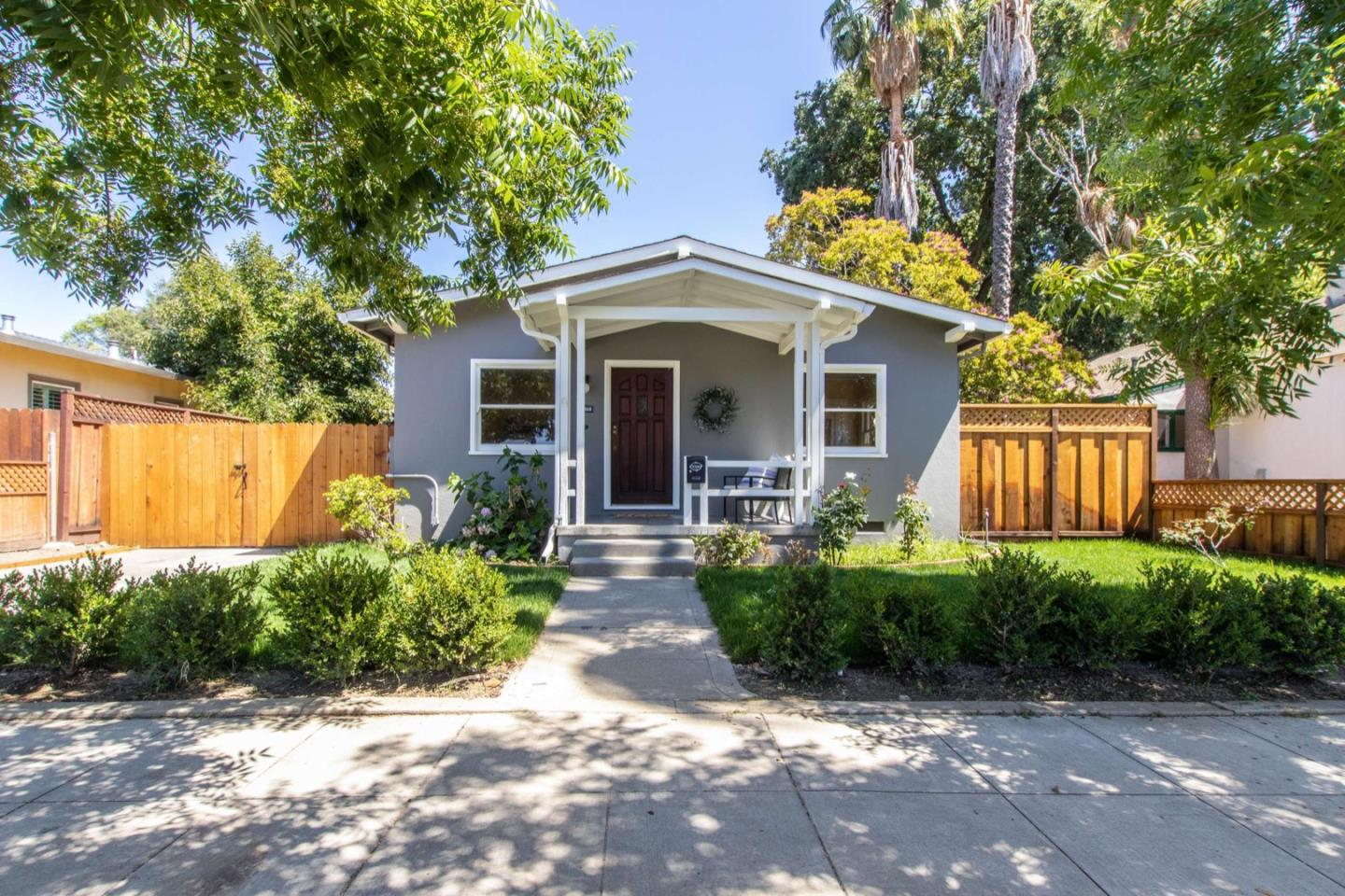 """The number one choice for your next home is on First Street! This quintessential Bungalow with 2 bedrooms & 1 bath has been tastefully updated with new paint in and out, refinished flooring, new kitchen cabinets and appliances, new light fixtures, new hardware, newer heating system, upgraded electrical, new landscaping/fencing and so much more! Long driveway, detached two car garage, and incredible proximity to downtown are only a few of the many, many reasons you will want to call this house your home! Easy access to both Highway 580 and 680 so any commute is a breeze! There is not enough room nor adjectives to describe what a great living experience this home will provide so be sure to put it at the top of your list of """"must see"""" homes today!"""