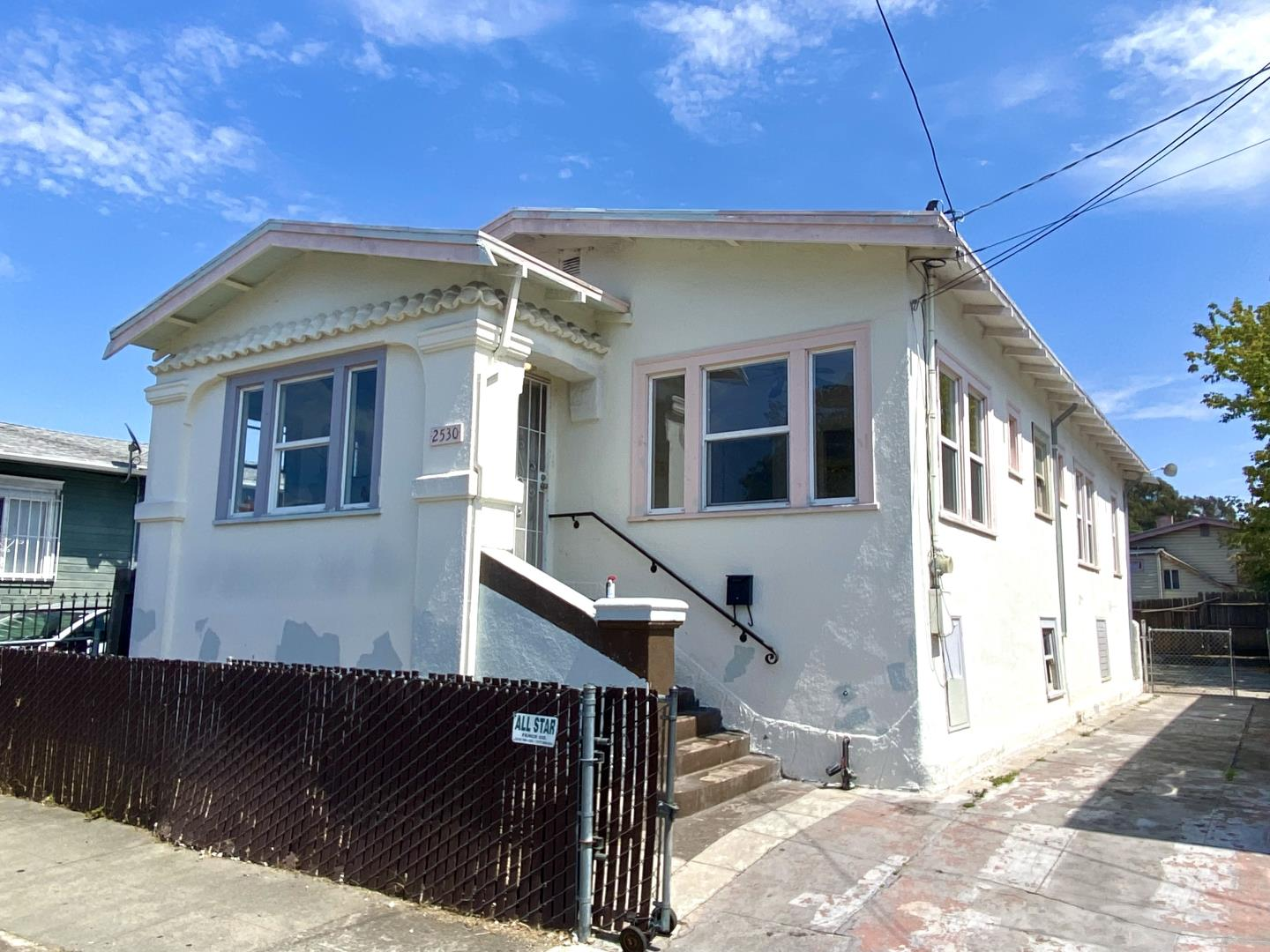 Best Value house in the Bay Area. It's actually a Four bedroom, but public records says Two. A three bedroom voucher will pay at least $3300/mo in rent, that yields over 6% return!  Large fenced yard with RV Parking!!  Huge Basement with Great Potential. Large living room with period detail with room for formal dining !  Kitchen leads to 4th Bedroom, or can be used as family room.  Ceiling fans in all rooms.  This will be a wonderful, and affordable home or a great rental!! Perfect for First time home buyer, or investor.  Where can you go to have RV parking and huge basement, plus No HOA, for this Price?   Video Tour : https://youtu.be/bE0OQ_F1X3s