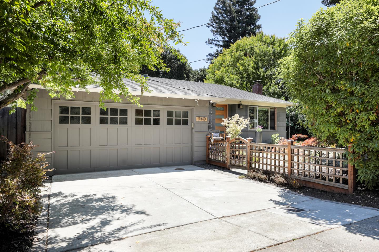 Located on a quiet tree lined street minutes to FB & downtown MP, this meticulously remodeled home welcomes you with a gated entry to a low-maintenance garden w/native plantings & fruit trees and slate porch. Contemporary spaces add warmth & comfort w/extensive use of rich woodwork & hardwood floors. Sun filled open floor plan w/picture windows & glass doors in great room ensemble of living, dining & custom remodeled chef's kitchen w/quartz and sandstone counters, quality stainless steel appliances create the perfect ambience for entertaining. The oversized primary suite has French doors to wood deck & backyard, a luxurious bath, and closet w/organizers. The 2nd Bedroom is serviced by a stylishly remodeled hall bath. The well optimized floor-plan has bonus office nook overlooking the backyard. Attached 2-car garage w/ample storage, cabinets & laundry room w/ quartz counters. Great for starter home or ideal for downsizing while keeping the key essentials to maintain your lifestyle.