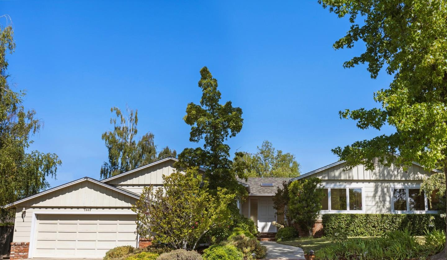 This large move-in ready sanctuary is tucked into a cute cul-de-sac - just down the street from Montclaire Elementary and Park. The open concept floorplan includes a remodeled, rear-facing, great room kitchen (with Wolf Range) that flows to the family room and opens to the back patio. The manicured backyard feels like a private retreat and offers views of the mountains.  You'll have endless possibilities for daily living, entertaining, or relaxing.  All 4 bedrooms are spacious and 2 of them include built-ins that are ideal for WFH. With this much living space and tranquility, this could be your forever home.  Through the years, you'll enjoy savings from the photoelectric solar system (owned), too.  The Highlands of Los Altos offers friendly neighbors, well-balanced schools, fun social events, and a neighborhood entrance to Rancho San Antonio Preserve. Nearby schools include Montclaire ES, Cupertino MS, Homestead HS, St Simon, St Francis, and Pinewood.