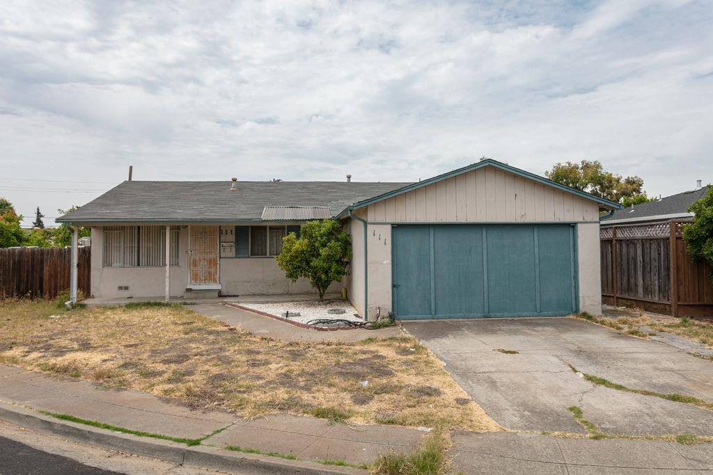 Reimagine and make this home your own.  Located on a desirable cul-de-sac, this single level home offers a functional layout and endless transformation possibilities.  The generously sized backyard allows ample space for outdoor entertaining.  The garage had been converted to living quarters and can be converted back to a 2 cars garage.  Conveniently located near local parks, Costco, the Pacific Commons Shopping Center and easy access onto the 880 freeway.