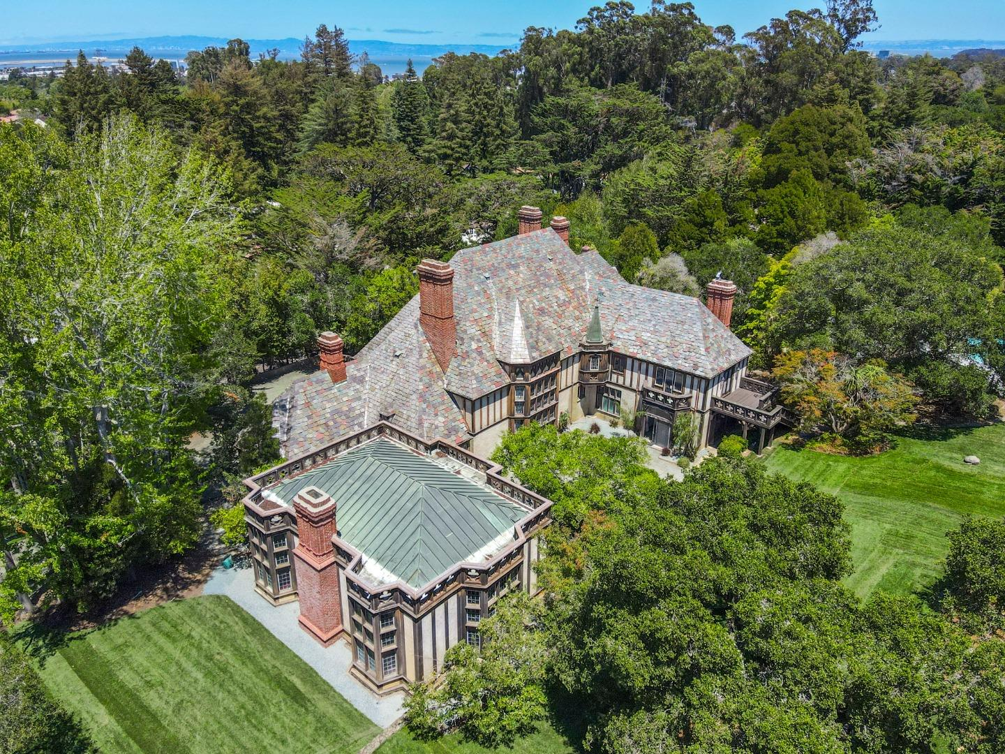 """The original """"Fagan Estate,"""" namesake of the Fagan Estates subdivision is on the market again for the first time since the mid-1970s. 10 bedrooms, 6.5 bathrooms, 13,490 square feet on just over 2 acres of land. Beautiful English Tudor architectural style, and filled with rare antique pieces, like reclaimed wood from a famous shipwreck, a coffee table fashioned from a door said to belong to Leonardo Da Vinci, and a 16th century marble fireplace. Once in a lifetime opportunity to own a famed Hillsborough estate.  *0.9 Acre parcel adjacent to the property is also listed for sale. Properties are NOT required to be purchased together*"""