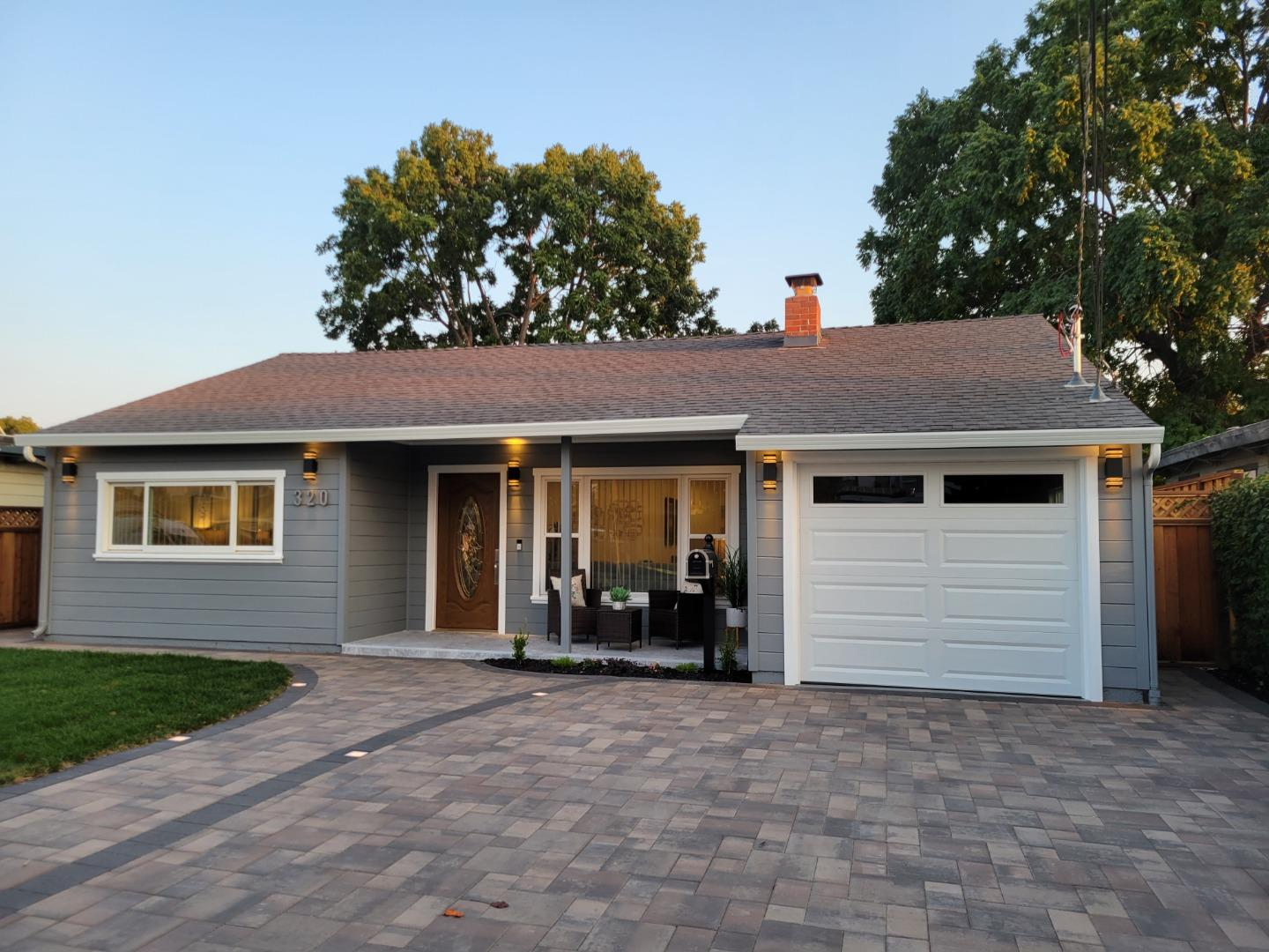 This is simply a BEAUTIFUL home!!  This is the property that you have been looking for.  This home is reasonably priced for the city of Menlo Park. The WOW factor starts when you walk onto the pavers and see the timed lighted walkway, it just gets better from there. Take a close look at all the amenities this home offers. Newly remodeled, with 2 masters, stylish 4-bedroom 3 FULL baths with all NEW Kitchen appliances. Inside laundry area and manicured backyard that feels like an oasis. This is the home for you. Ask about the major community projects within walking distance of this home.