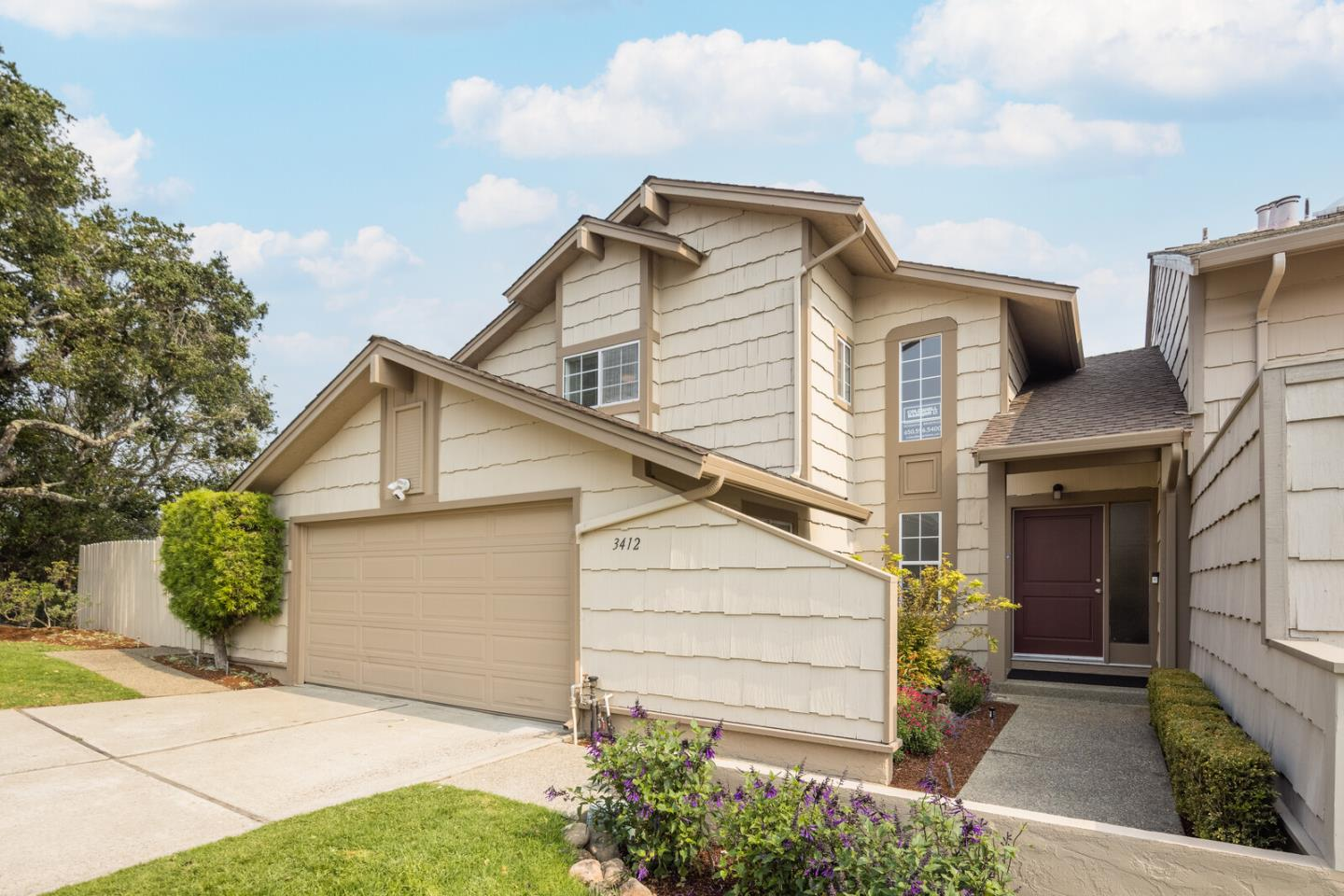 Detail Gallery Image 1 of 1 For 3412 Westwood Ct, San Mateo,  CA 94403 - 3 Beds | 2/1 Baths