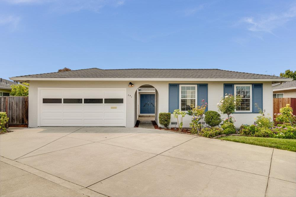 Placed in a sought-after Birds neighborhood, this hard-to-find 4 BD/2BA single-story stunner will have you chant: location, location, location! Tucked in a green cul-de-sac, this marine oasis offers 1780 sq ft of freshly painted indoors with a flexible floorplan, hardwood flooring, and a European-designed palette of brand new exterior paint. Spacious kitchen with eat-in dining and breakfast bar features Taj Mahal quartzite countertops.You'll find a sunken family room with gas fireplace and an entertainer's delight backyard on 6000 sq ft lot.You'll love to relax under Japanese maples and breathe in the fragrance of orange trees.Primary suite has a newly redone bathroom with a stepped-in shower and a convenient separation from the other 3 bedrooms and a bathroom.Forget electric bills with fully owned solar panels and Tesla-compatible AV charging. Walking distance to top-rated schools, surrounded by 24 parks, 16.5 miles of navigable canals, and a scenic golf course, this house has it all!