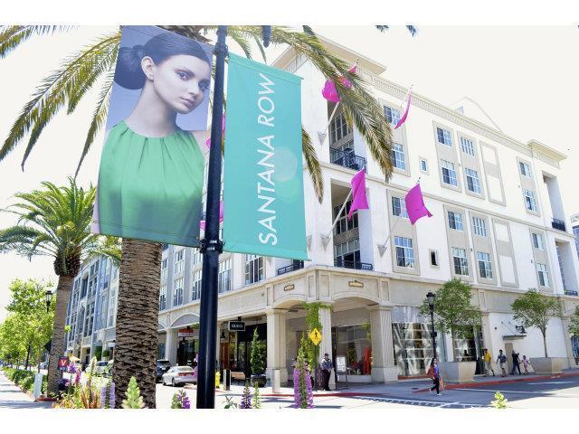 Detail Gallery Image 1 of 1 For 334 Santana Row #305,  San Jose,  CA 95128 - 2 Beds   1/1 Baths