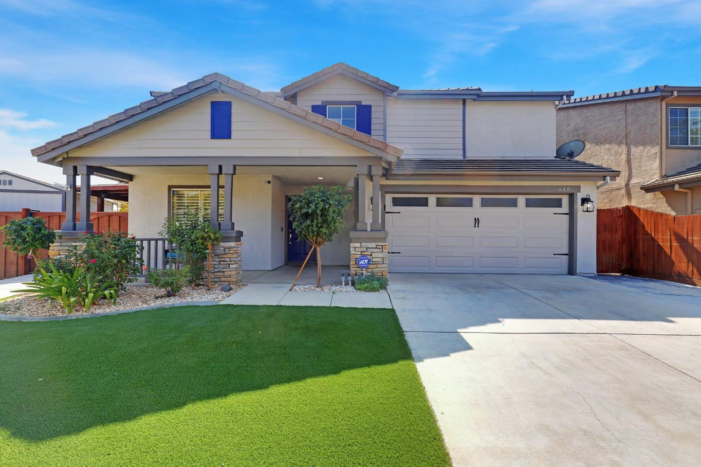 Detail Gallery Image 1 of 38 For 448 Glenbriar Cir, Tracy,  CA 95377 - 4 Beds   3 Baths