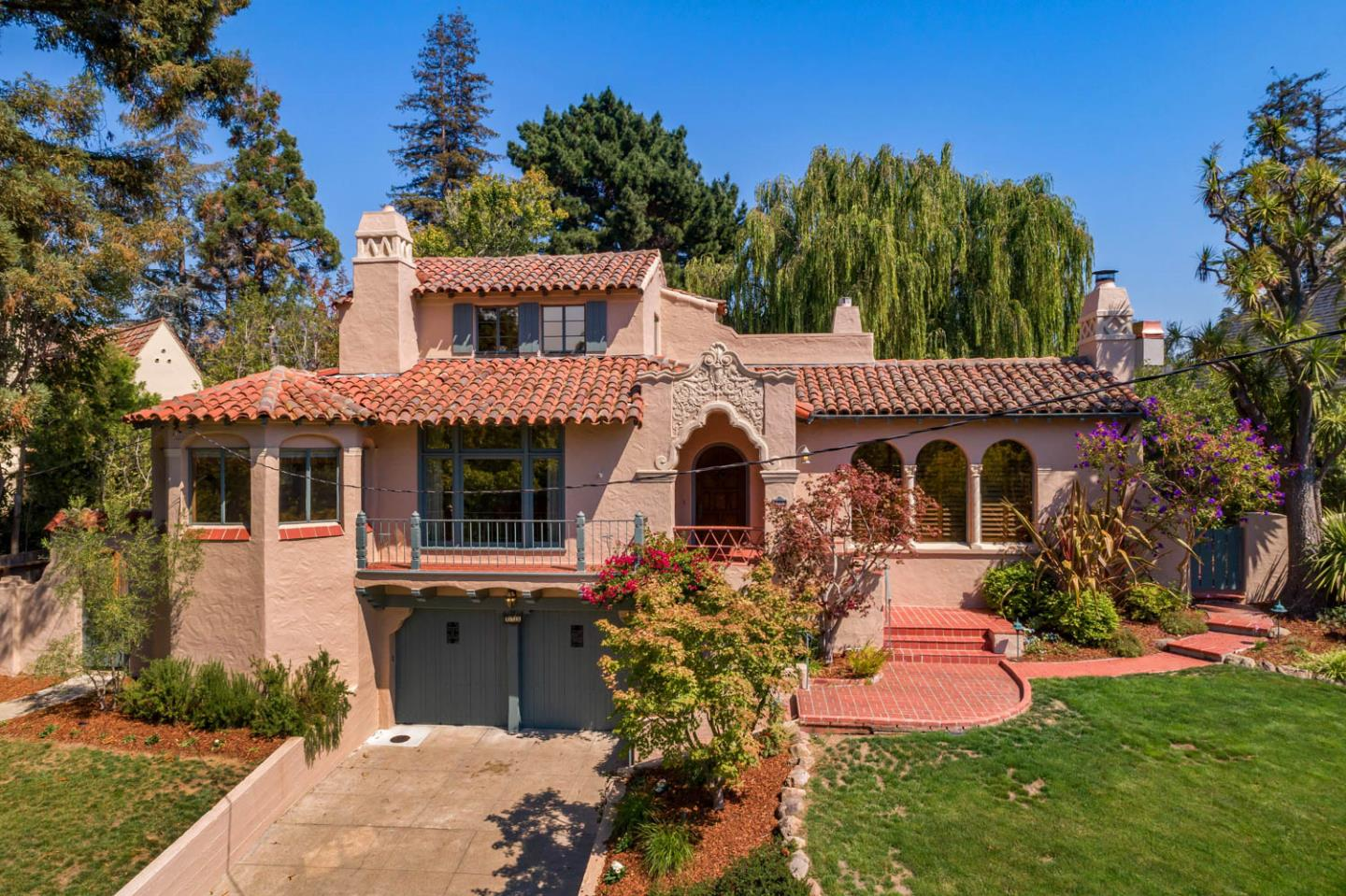 Spanish Architectural Gem in San Mateo Park! Ideally located in San Mateo's most prestigious neighborhood, San Mateo Park, this home presents time-honored Spanish architecture on a large lot. Lovingly owned by the same family for the past 57 years, the home is filled with of-the-era appointments, including light fixtures designed for the home, graceful arches on windows and room openings, hewn beamed ceilings, and vintage tile appointments. The expansive formal rooms are delightfully balanced by a breakfast room and large kitchen. There are 5 bedrooms and 3 full baths arranged across three graceful levels. Outside, a large, level rear yard dotted with fruit trees and a signature willow tree offers ample space for fresh-air living. With a premier location midway between San Francisco and Silicon Valley, plus the option to enjoy today or renovate, this is indeed a very special opportunity for yet another generation to come.