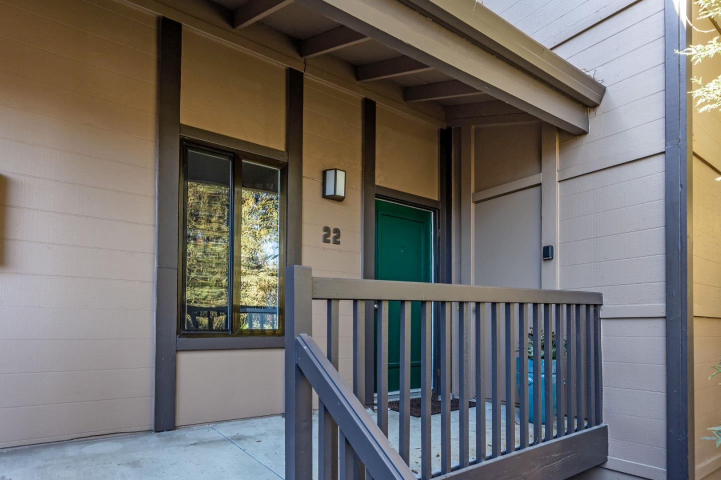 THIS IS A BEAUTIFUL 2 BEDROOM & 2 BATHROOM 1,365 SF UNIT - SECLUDED IN THE BACK OF THE COMPLEX - NEXT DOOR TO HERITAGE PARK - SELLER OWNED SOLAR PANELS - ELEC. BOSCH CAR CHARGER, 2 HEAT/AC PUMPS & BASEBOARD HEATERS, NEW FLOORING, NEW STONE COUNTERS IN KITCHEN AND BATHS, NEW FAUCETS AND SINKS, DOUBLE PANE WINDOWS AND SLIDER - REMOTE OPERABLE SKYLIGHT & REMOTE SHADES