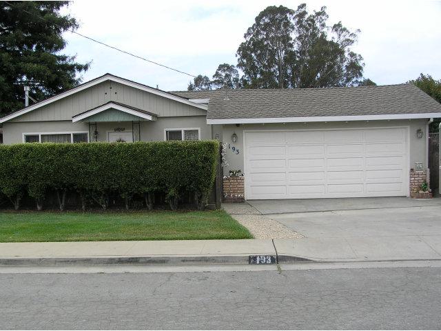 193 Rainbow Lane, Watsonville, CA 95076 $360,000 www